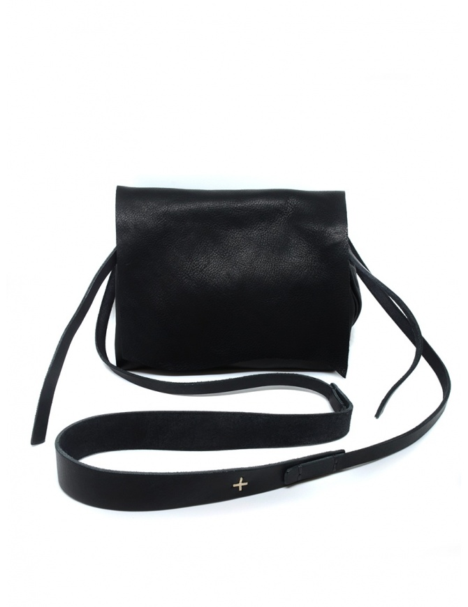 M.A+ black shoulder bag with flap B7214A CE 1.0 BLACK bags online shopping
