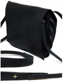 M.A+ black shoulder bag with flap bags price