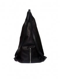 Zaino M.A+ a triangolo in pelle nera prezzo