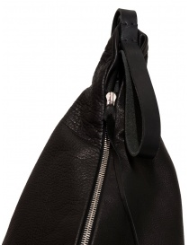 M.A+ triangle backpack in black leather bags buy online