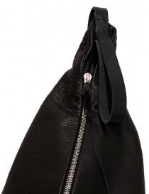Zaino M.A+ a triangolo in pelle nera borse acquista online
