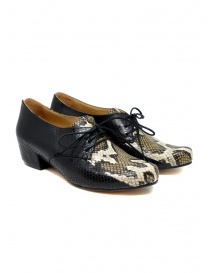 Scarpe Tracey Neuls pitonate CUSCUS SNAKE STRIPE order online
