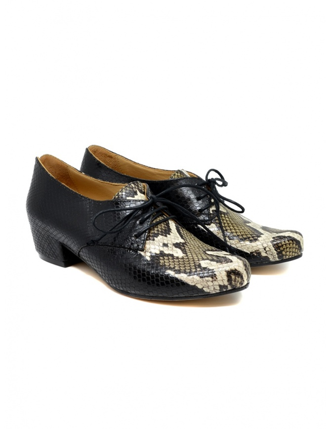 Scarpe Tracey Neuls pitonate CUSCUS SNAKE STRIPE calzature donna online shopping