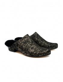 Calzature donna online: Scarpe Tracey Neuls con pelliccia nere e oro