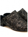 Tracey Neuls black and gold furry shoes NORA GOLD GRID buy online