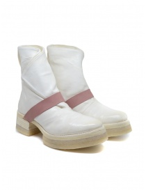 Carol Christian Poell AF/0905 In Between white boots AF/0905-IN ROOMS-PTC/01 order online