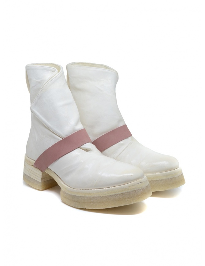 Carol Christian Poell AF/0905 In Between white boots AF/0905-IN ROOMS-PTC/01 womens shoes online shopping