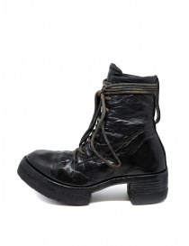 Carol Christian Poell AF/0906 black combat boots with laces
