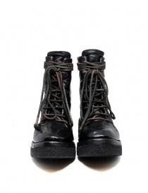 Anfibi Carol Christian PoellAF/0906 neri con lacci calzature donna acquista online
