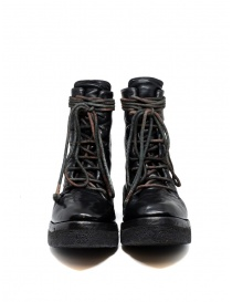 Carol Christian Poell AF/0906 black combat boots with laces womens shoes buy online