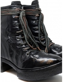 Carol Christian Poell AF/0906 black combat boots with laces womens shoes price
