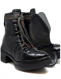Carol Christian Poell AF/0906 black combat boots with laces buy online price