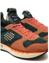 Sneakers BePositive Cyber arancio e verde 9FCYBER02/SUE/GRE-CYBER PLUS acquista online