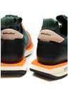 BePositive Cyber orange and green leather sneakers price 9FCYBER02/SUE/GRE-CYBER PLUS shop online