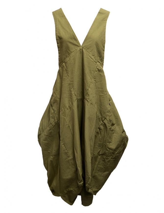 Kapital khaki dress with puffy skirt K1904OP084 KHAKI womens dresses online shopping