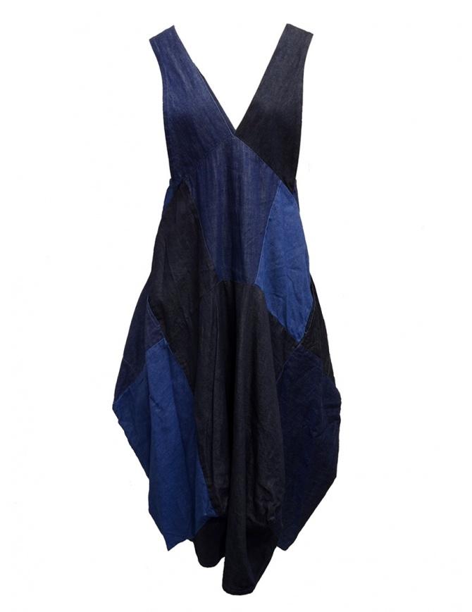 Kapital denim dress with puffy skirt K1905OP181 IDG womens dresses online shopping