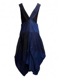 Kapital denim dress with puffy skirt