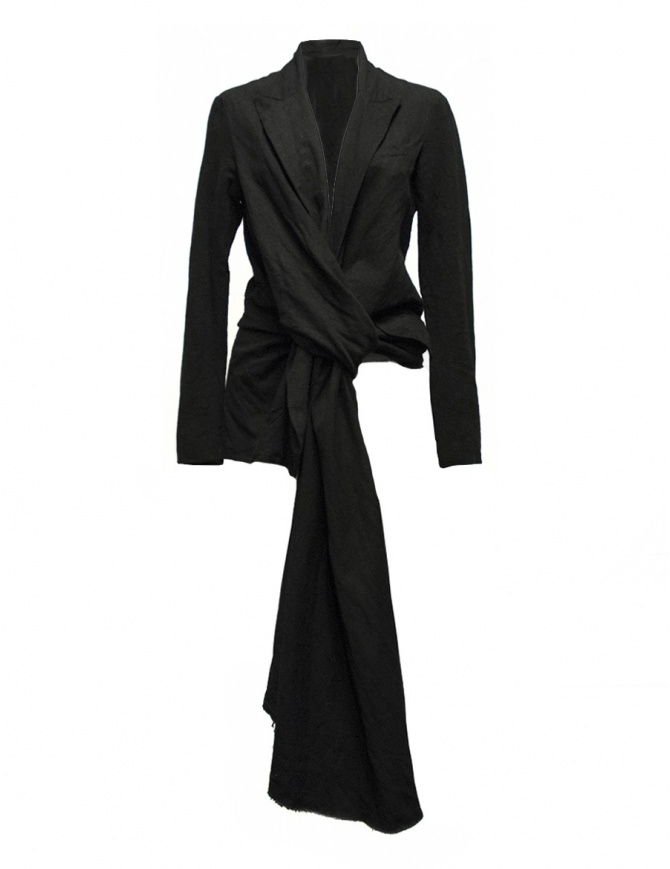 Marc Le Bihan black knotted suit jacket 2200 BLACK womens suit jackets online shopping