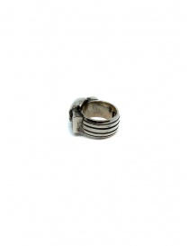 ElfCraft ring skull with two rectangular onyx stones jewels buy online