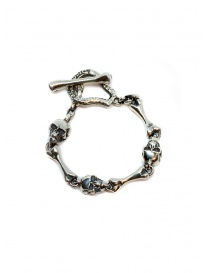Jewels online: ElfCraft bracelet with skulls and bones