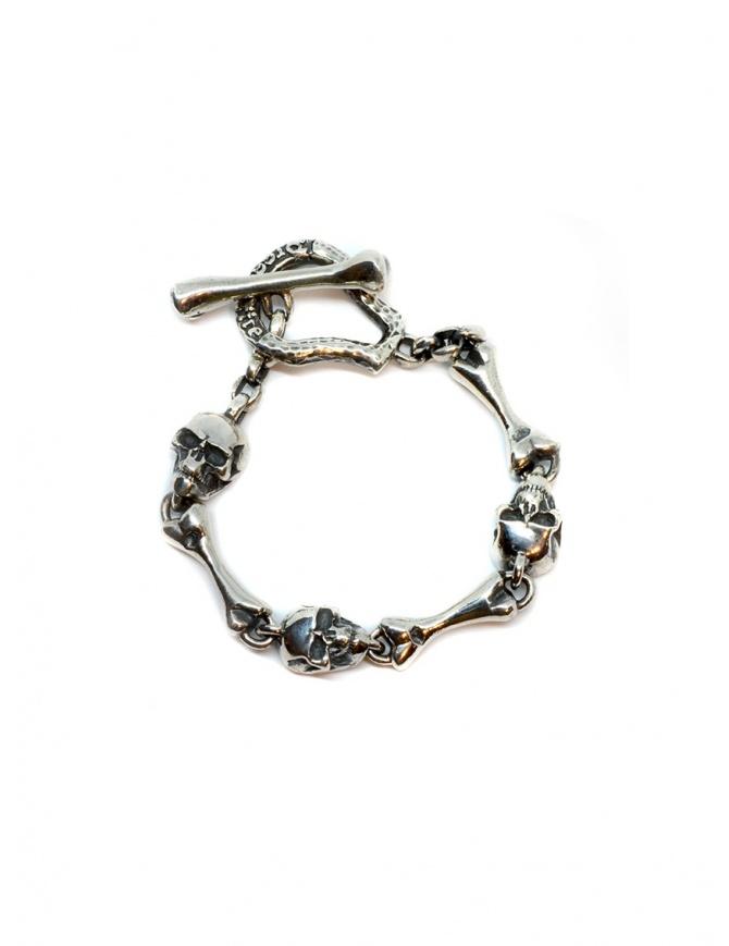 ElfCraft bracelet with skulls and bones DF211.99.207BO BRACELET jewels online shopping