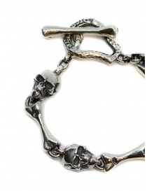 ElfCraft bracelet with skulls and bones
