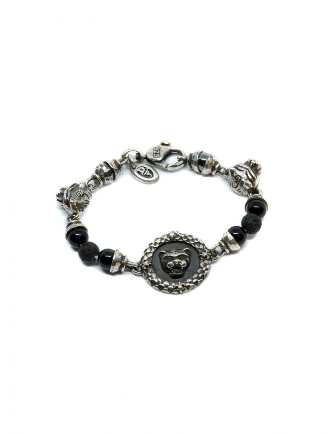 ElfCraft bracelet with lion coin and onyx 288.299.COIN BRACELET jewels online shopping