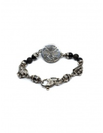 ElfCraft bracelet with lion coin and onyx