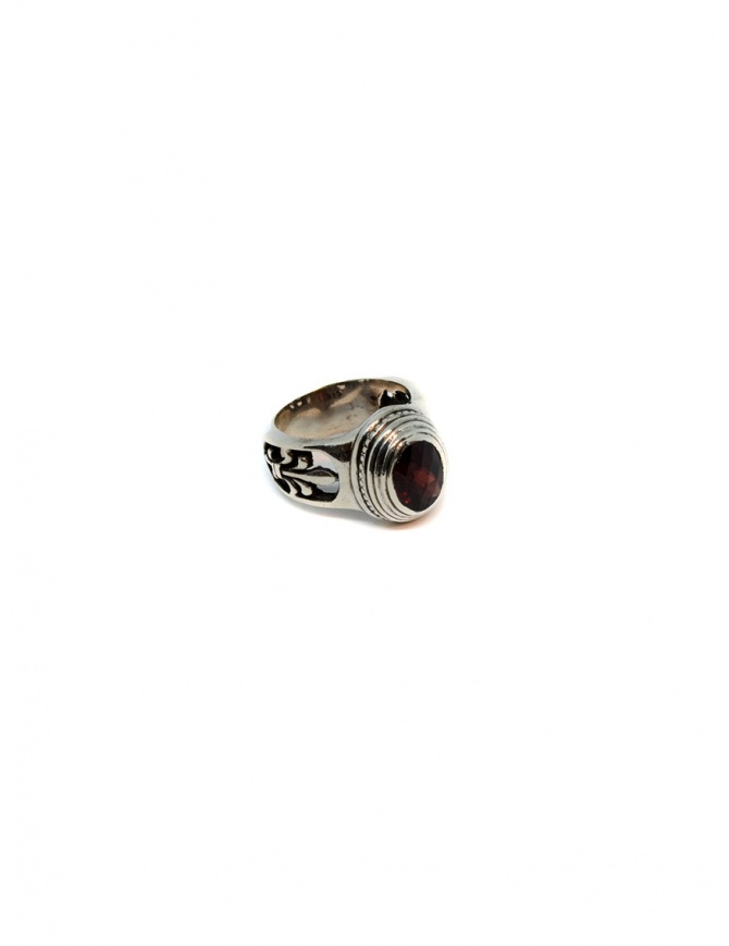 Elfcraft Elfen Queen ring with oval garnet stone 800.047 RING jewels online shopping