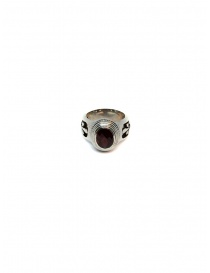 Elfcraft Elfen Queen ring with oval garnet stone