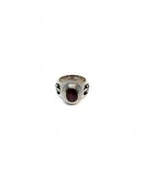 Elfcraft Elfen Queen ring with oval garnet stone buy online