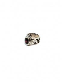 Elfcraft Elfen Queen ring with oval garnet stone price