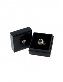 Elfcraft Elfen Queen ring with oval garnet stone jewels price