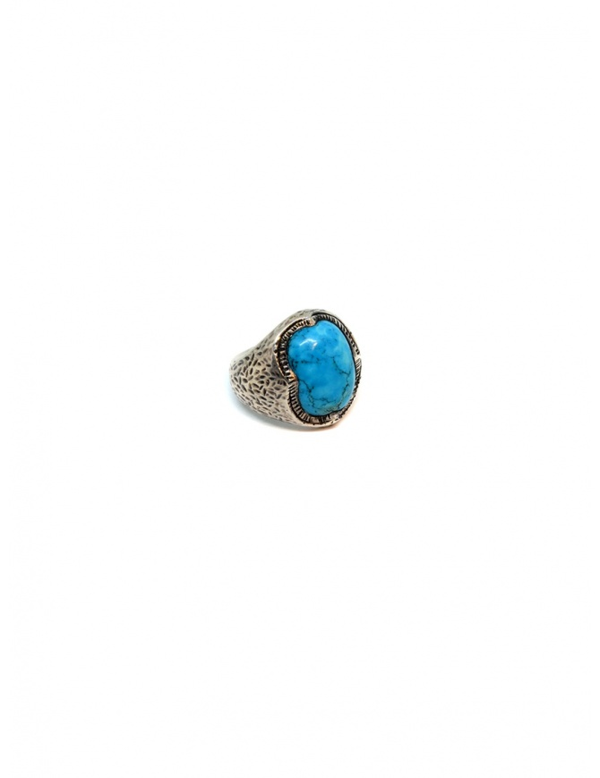 Elfcraft ring crown with turquoise stone DF800.402HAM jewels online shopping