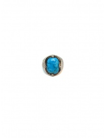 Elfcraft ring crown with turquoise stone