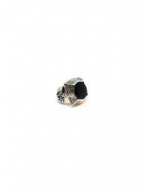 Elfcraft round baroque ring with lily and smoky quartz online