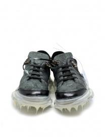 Carol Christian Poell drip sneaker da donna nera e bianca