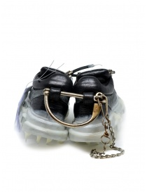 Carol Christian Poell drip sneaker da donna nera e bianca calzature donna acquista online