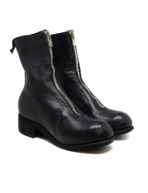 Womens shoes online: Guidi PL2 black horse leather boots