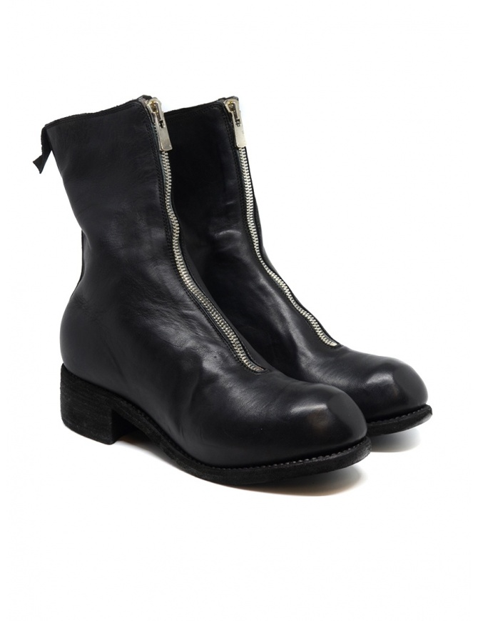 Guidi PL2 black horse leather boots PL2 SOFT HORSE FG BLKT womens shoes online shopping