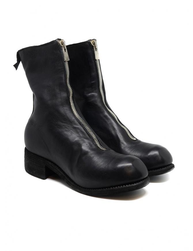 Guidi PL2 stivale nero in pelle di cavallo PL2 SOFT HORSE FG BLKT calzature donna online shopping
