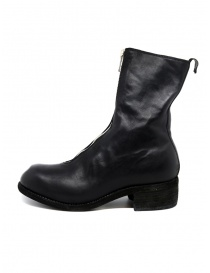 Guidi PL2 black horse leather boots buy online