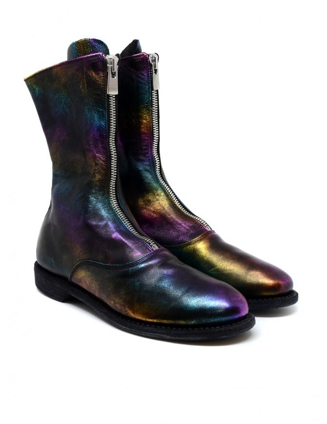 Stivale Guidi 310 in pelle di cavallo laminata arcobaleno 310 LAMINATED RBW calzature donna online shopping