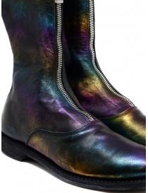 Stivale Guidi 310 in pelle di cavallo laminata arcobaleno calzature donna acquista online