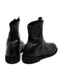 Black leather ankle boots 210 Guidi price