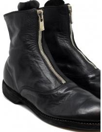 Stivaletto Guidi 210 in pelle nera calzature donna acquista online