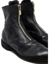 Black leather ankle boots 210 Guidi 210 SOFT HORSE FULL GRAIN BLKT buy online