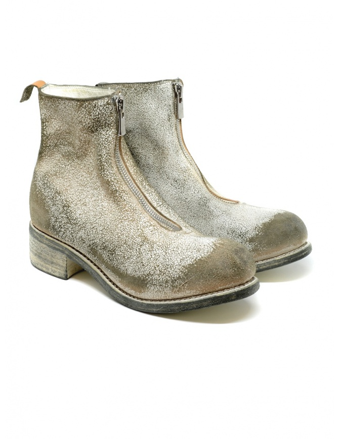 Guidi PL1_RU stivaletto bianco in pelle ruvida rivestita PL1_RU COATED 00_NTR calzature donna online shopping