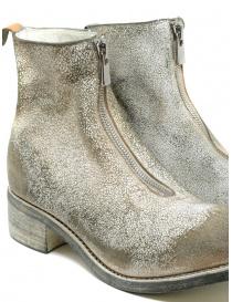 Guidi PL1_RU stivaletto bianco in pelle ruvida rivestita calzature donna acquista online
