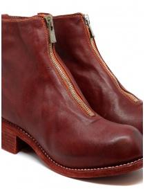 Stivali Guidi PL1 rossi in pelle di cavallo pieno fiore calzature donna acquista online